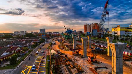 MRT Serdang Raya South Station