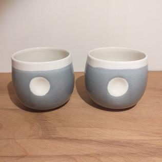 """Tasses porcelaine """"Spot"""""""