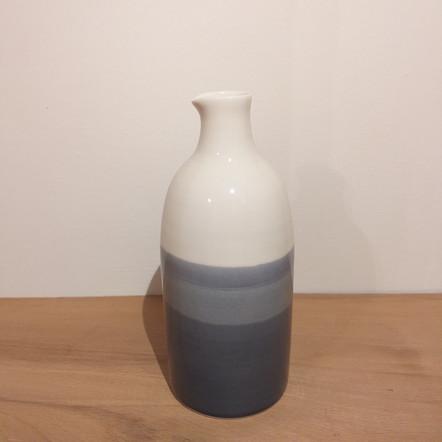 "Vase / carafe porcelaine ""Horizon"""