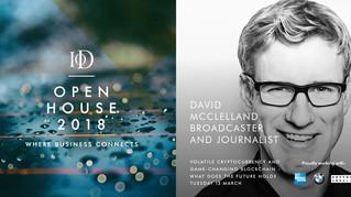 IoD Open House, join David McClelland