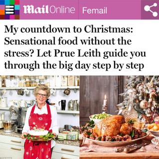 Daily Mail Online, Let Prue guide you through Christmas