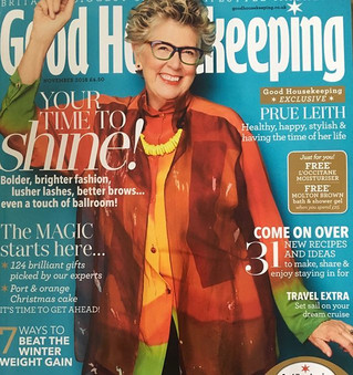 Prue Leith, our very own cover girl.