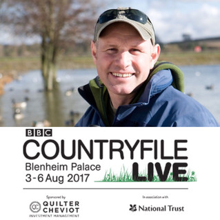 Mike Dilger at Countryfile Live!