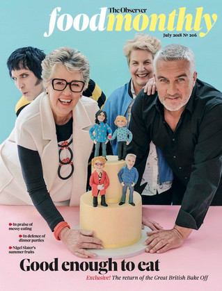 GBBO interview in the Sunday's Observer Food Monthly