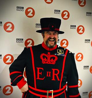 The Ravenmaster on BBC Radio 2