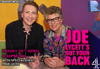 Joe Lycett's got your back with special guest, Prue Leith