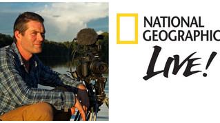 National Geographic LIVE! Charlie Hamilton James