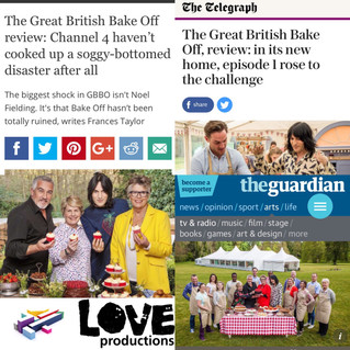 Success!Bake Off gives C4 biggest ratings since opening ceremony of Paralympic Games