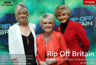 David McClelland will once again be gracing our screens in the new series of BBC One's Rip Off B