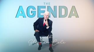 Stephen Cole hosts The Agenda on CGTN