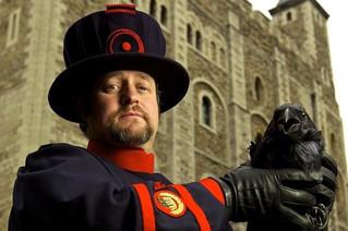 Sky News interviews Chris Skaife, aka The Ravenmaster