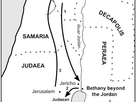 The Journey of Jesus