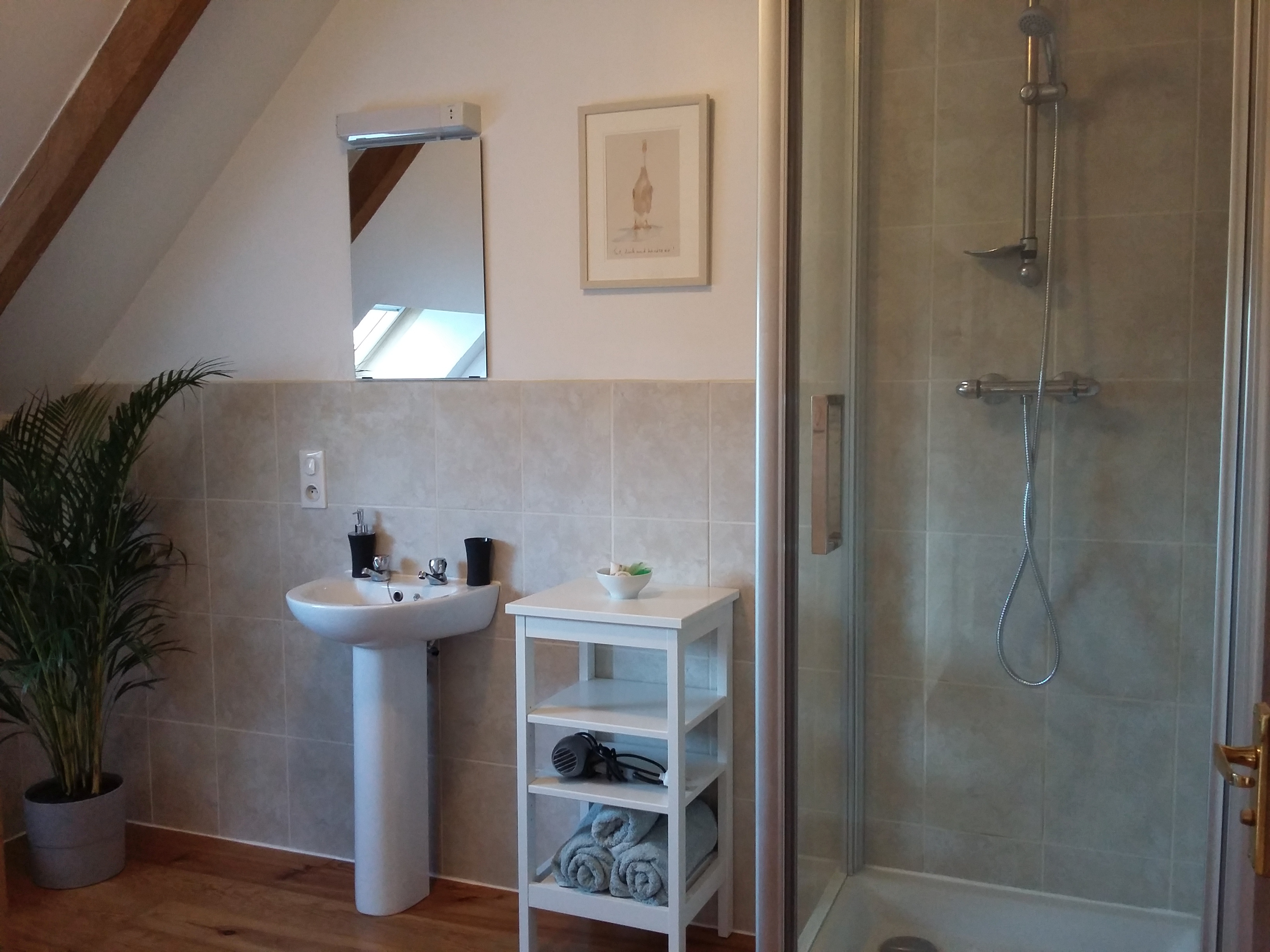 shower - petite grange