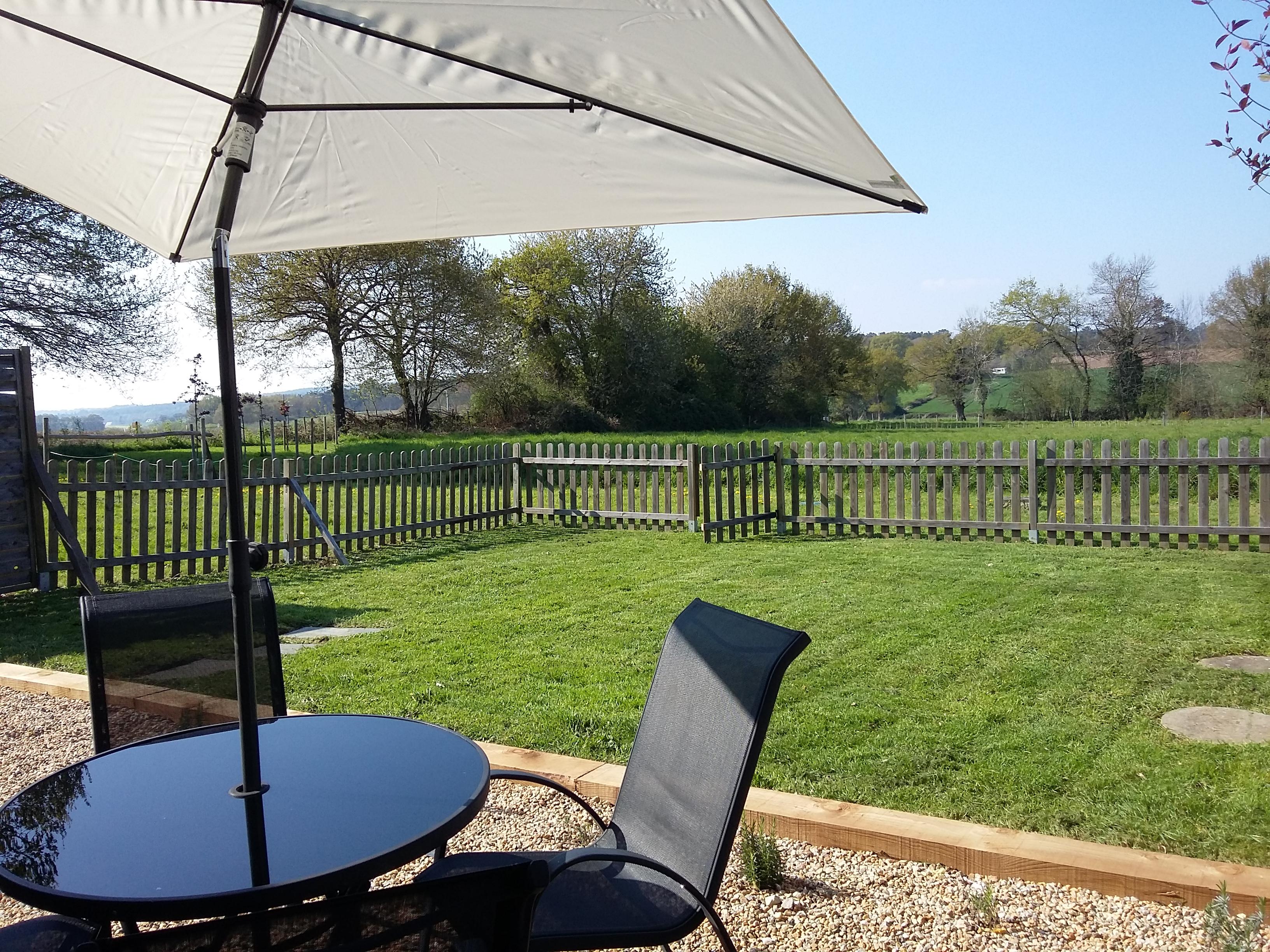 la petite grange - view from garden