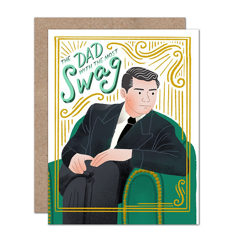 The Dad With The Most Swag - Father's Day | Dad Birthday - Set of 6