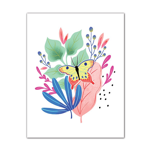 Bugs & Botanicals - Butterfly