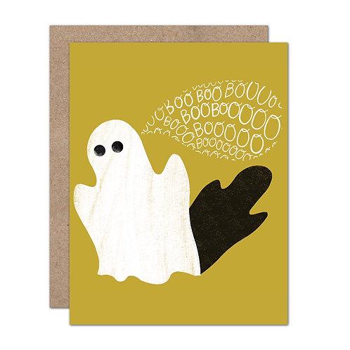 BOO! Ghost Halloween Card - Set of 6