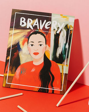 Copy of Bravery_Bernice_Cover+Brushes_Sq