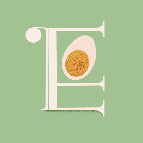 E is for Egg