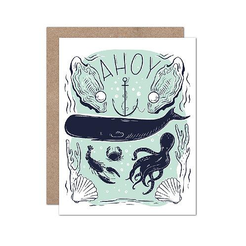 Ahoy Whale