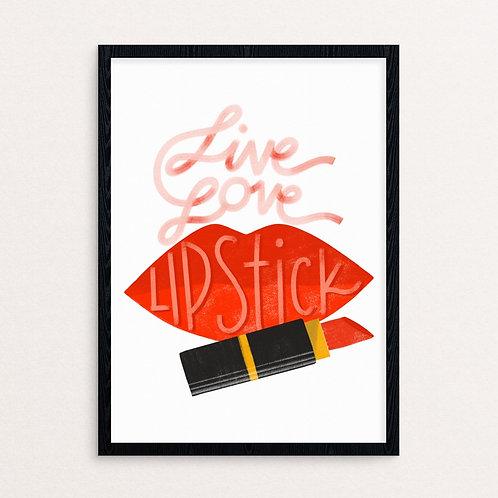 Live, Love, Lipstick