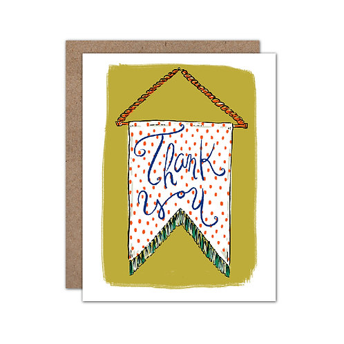 Tapestry - Thank You Card