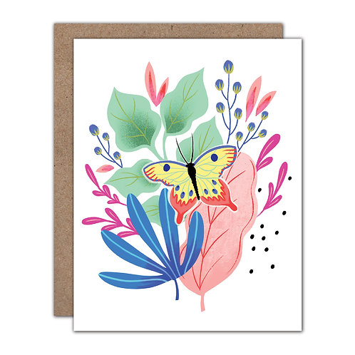 Bugs & Botanicals Series - Butterfly