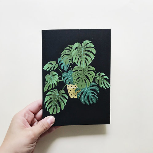 Potted Monstera Journal