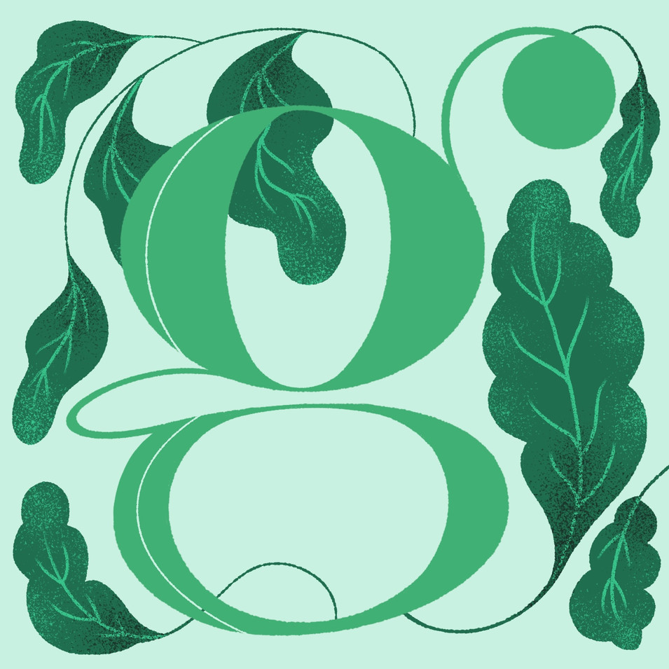 G is for Greens