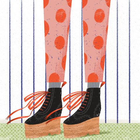 Fancy Pants | Polka Dots & Boots