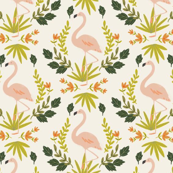Floral Flamingo Home Goods