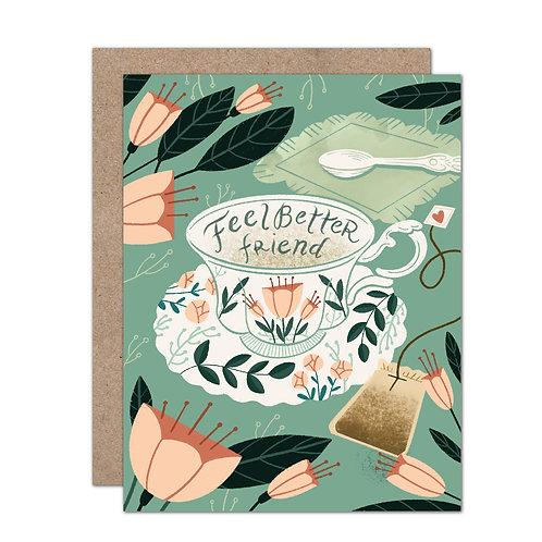 Feel Better Friend | Sympathy/Encouragement Card - Set of 6
