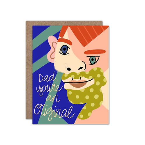 Dad, You're An Original | Father's Day Card | Picasso