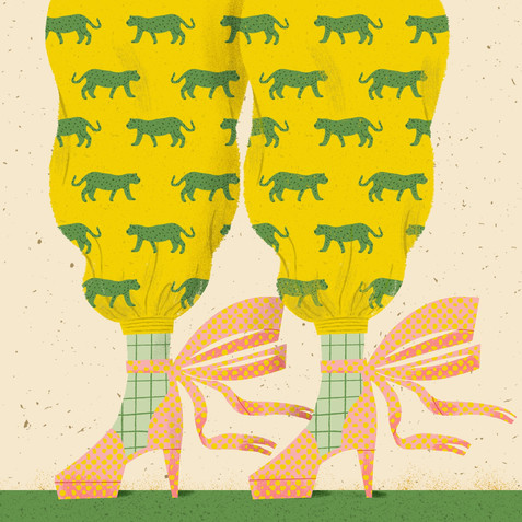Fancy Pants | Leopard