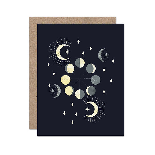 Celestial Moons - Set of 6