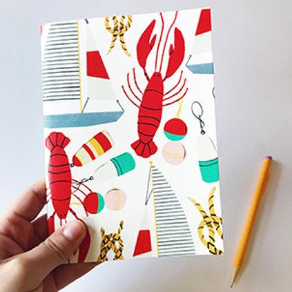 Nautical Lobster & Sailboat Journal
