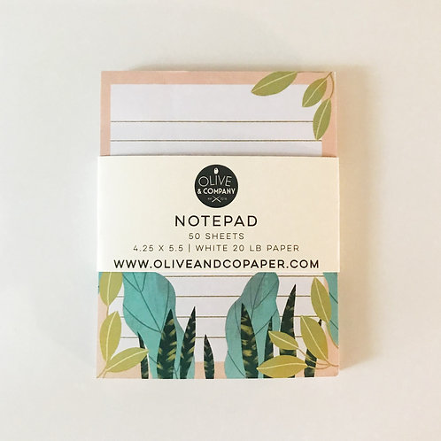 Tropical Vibes | To Do List Desk Notepad