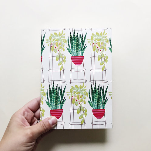 Tall Potted Plants Journal