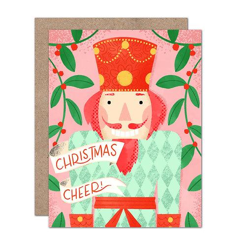 Christmas Cheer Nutcracker Card - Set of 6