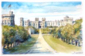 LondonWindsor castle colour scaled down