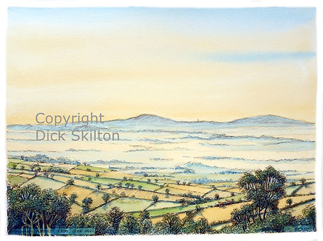 Abberley from clee hill sunrise (2) copy