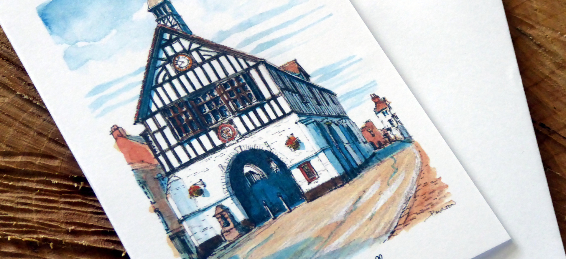 Bridgnorth Town Hall card