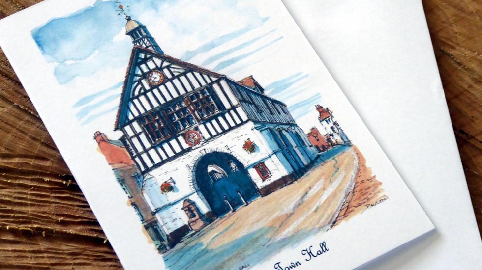 Bridgnorth Town Hall card