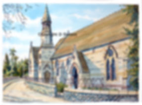 Jackfield church ( near ironbridge) copy