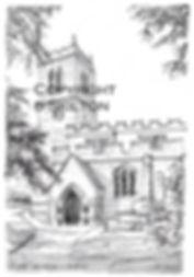 St. Mary's Alveley Pencil and Pen