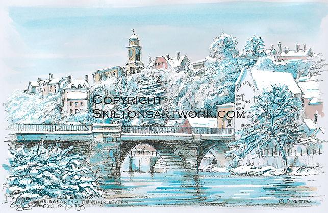Bridgnorth in Winter