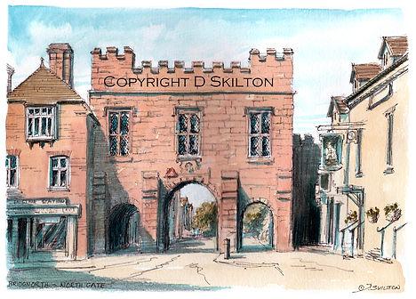 Bridgnorth Northgate in colour