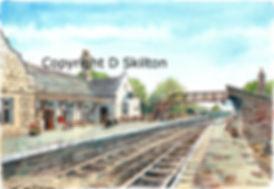 bridgnorth station scaled down copyright
