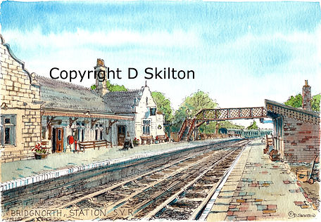 bridgnorth station scaled down copyright