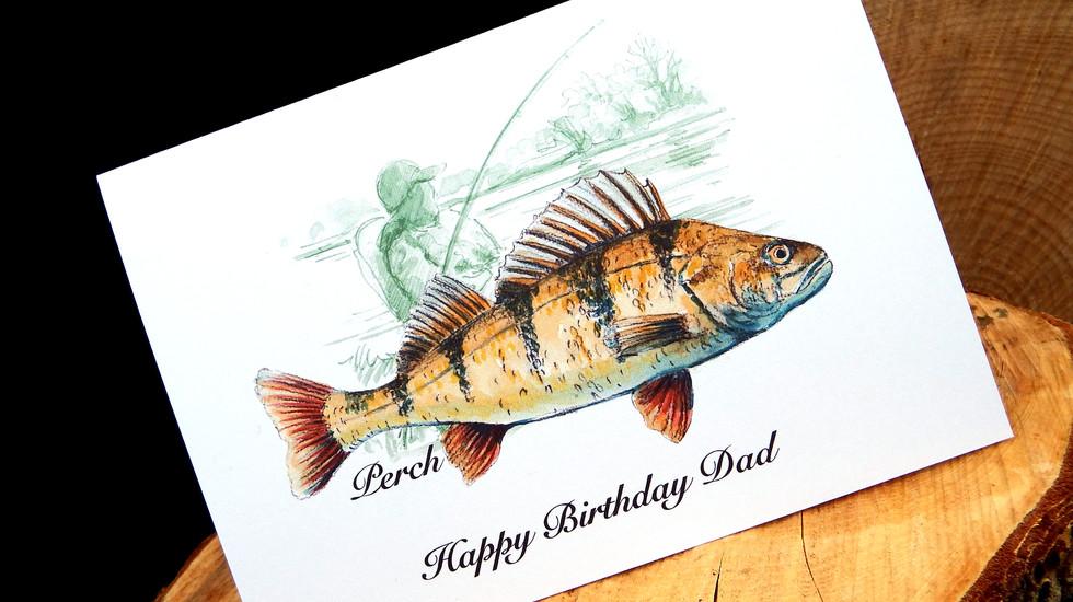 Perch - Happy Birthday Dad
